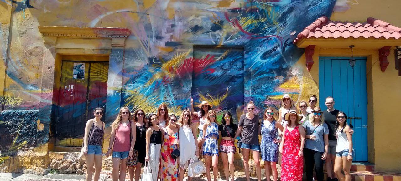 Graffiti tour en cartagena Getsemani